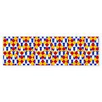 Six Bored Heralds Sticker (Bumper)