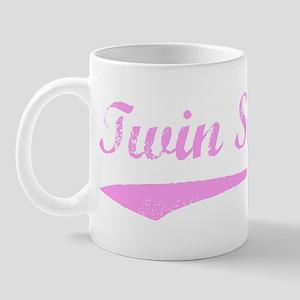 Vintage (Pink) Twin Sister Mug