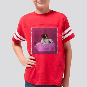 pinkPointerPillow Youth Football Shirt