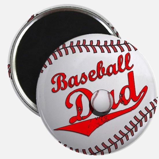 Baseball Dad Magnet