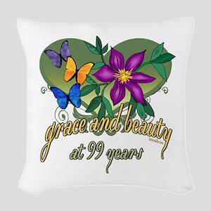 GraceButterfly99 Woven Throw Pillow