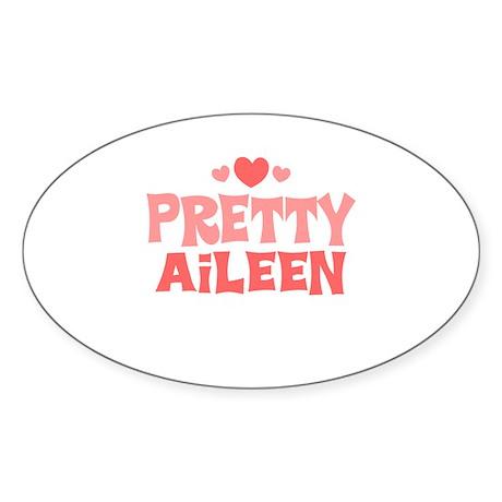 Aileen Oval Sticker