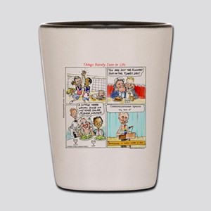Current Events That Never Happened Shot Glass