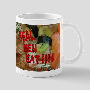 Real men eat sushi Mugs