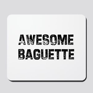 Awesome Baguette Mousepad
