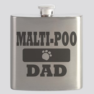 MALTI-POO DAD Flask