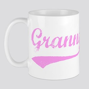 Vintage (Pink) Granny Mug
