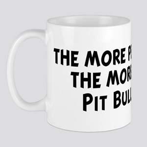 Pit Bull Terrier: people I me Mug