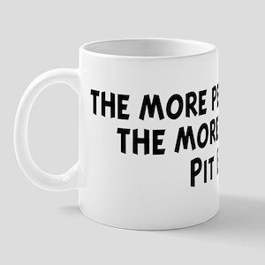 Pit Bull: people I meet Mug