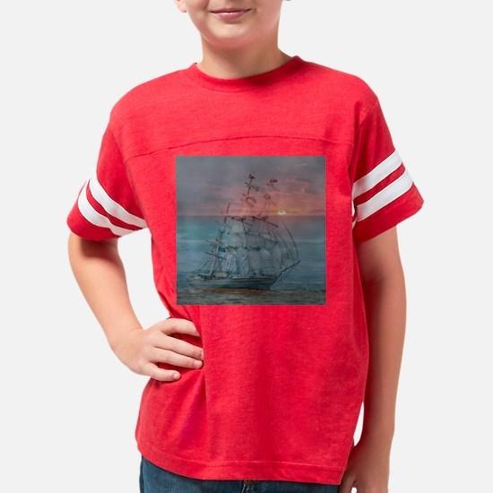 Cool Beach scenes Youth Football Shirt