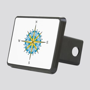 Compass Rose Hitch Cover
