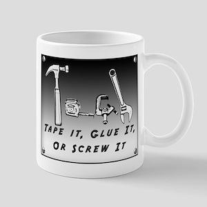 Mug - Tape it, Glue it, or Screw it!