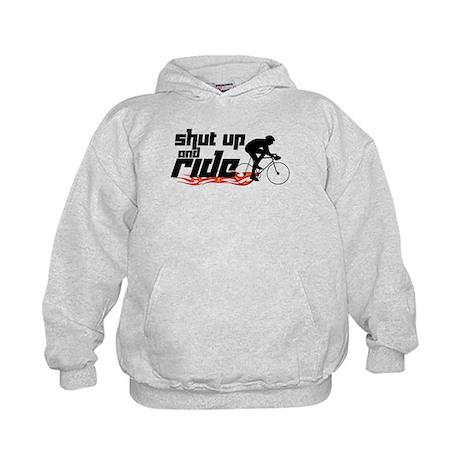 Shut Up and Ride Kids Hoodie