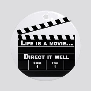 Life is a movie, Direct it well Keepsake (Round)