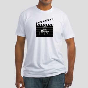 Life is a movie, Direct it well - Fitted T-Shirt