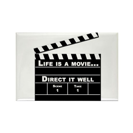 Life is a movie V2 Magnets