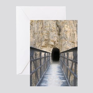 Grand Canyon Bridge Tunnel Greeting Cards (6)