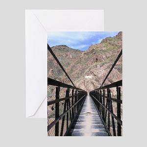 Grand Canyon Bridge South Greeting Cards (6)