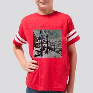 Pieter Bruegel Hunters in the Youth Football Shirt