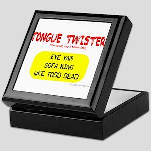 Tongue Twister Keepsake Box
