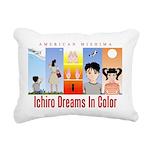 Ichiro Poster 2 Rectangular Canvas Pillow