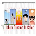 Ichiro Poster 2 Shower Curtain