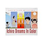 Ichiro Poster 2 Throw Blanket