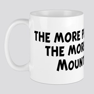 Mountain Cur: people I meet Mug