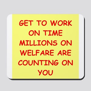 WELFARE Mousepad