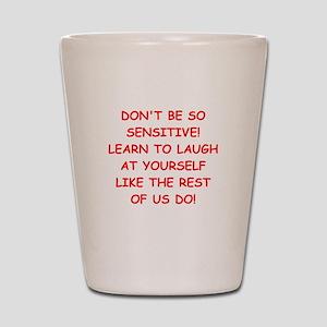 laugh Shot Glass