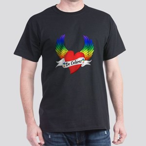 Winged Heart De Colores T-Shirt