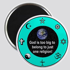 "Big God Religion III 2.25"" Magnet"