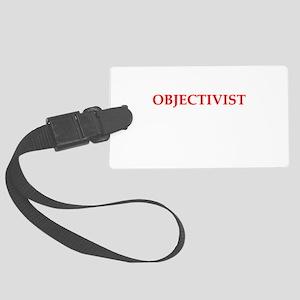 objectivist Luggage Tag