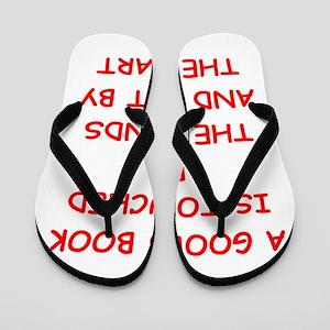 BOOKS Flip Flops