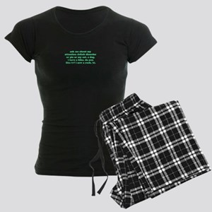 Ask Me About My ADD Women's Dark Pajamas