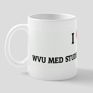 I Love WVU MED STUDENT KEVIN  Mug