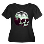 Cryptic Ink Retro Skull Plus Size T-Shirt