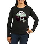 Cryptic Ink Retro Skull Long Sleeve T-Shirt