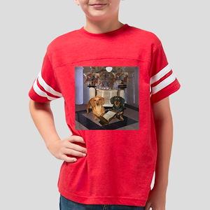 dogsjewish16X16 Youth Football Shirt