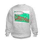 Retro Christmas Kids Sweatshirt