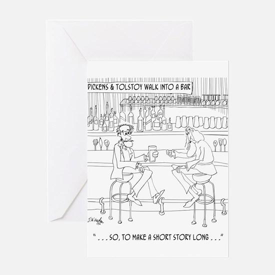 Literature Cartoon 9267 Greeting Card