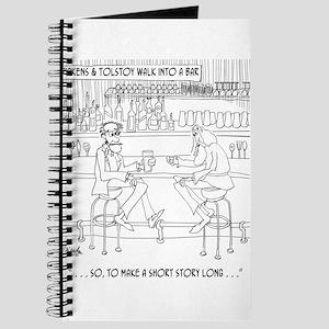 Literature Cartoon 9267 Journal
