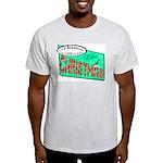 Retro Christmas Ash Grey T-Shirt