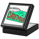 Retro Christmas Keepsake Box