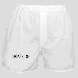 Swim Bike Run Drink Boxer Shorts