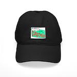 Retro Christmas Black Cap