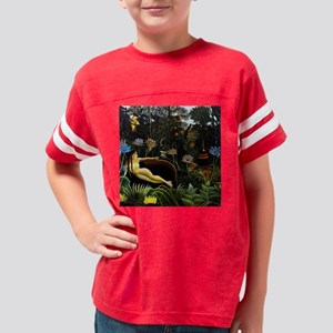Henri Rousseau The Dream Youth Football Shirt