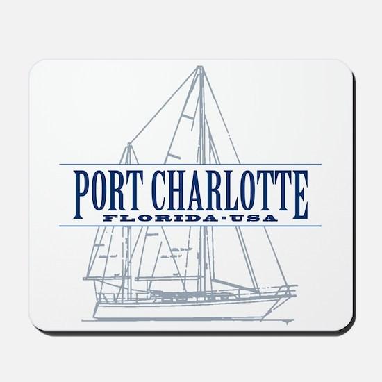 Port Charlotte - Mousepad