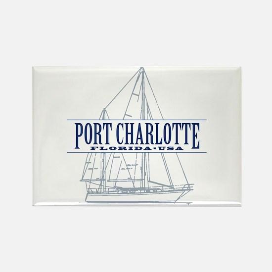 Port Charlotte - Rectangle Magnet