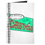 Retro Christmas Journal